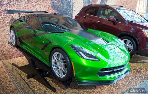 All Corvettes are Green on St. Patrick's Day!