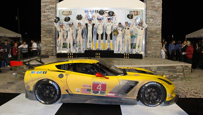 Corvette Racing at Sebring: Second Straight Win for Corvette C7.R to Start 2016