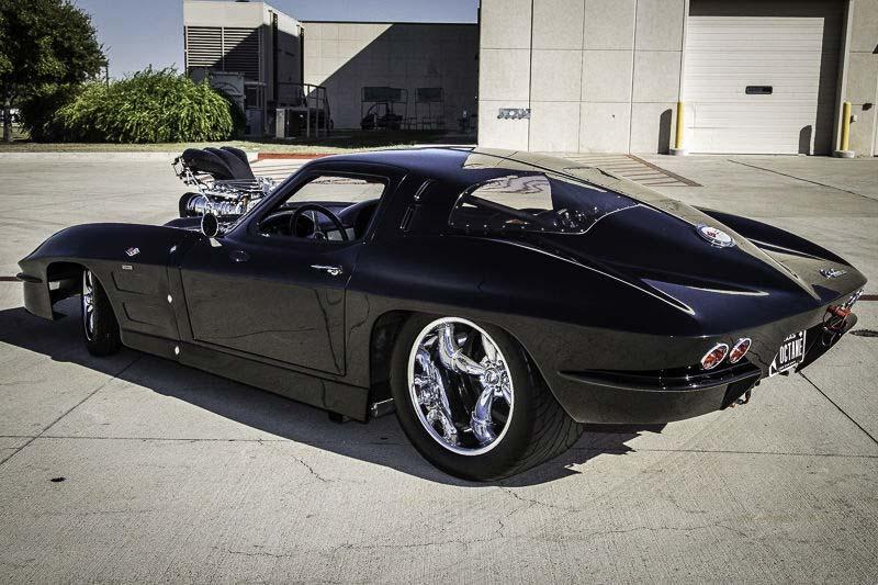 Corvettes on eBay: Blown Pro Street 1963 Corvette Split