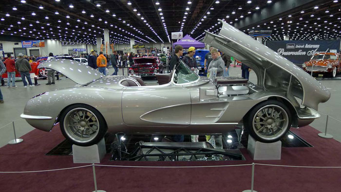[VIDEO] Custom 1960 Corvette Nicknamed Revenant at the 2016 Detroit Autorama