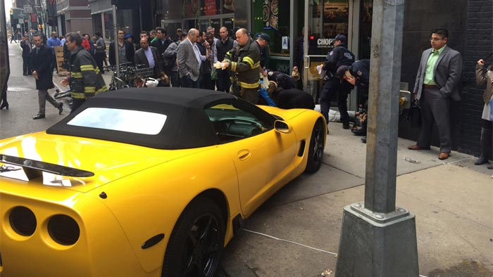 [ACCIDENT] Driverless Corvette Runs Over a Woman on a Busy NYC Sidewalk