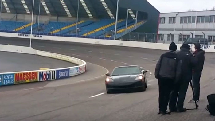 [VIDEO] World's First Radio Controlled C6 Corvette Hits the Track