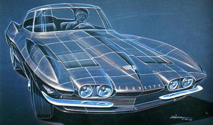 Today is Legendary Corvette Designer Larry Shinoda's Birthday