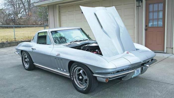 Kansas City Man's 45 Year Affair with a Silver/Silver 1966 Corvette