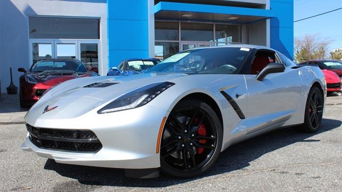 March 2016 Corvette Sales