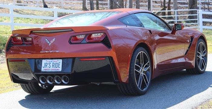 Win a Corvette Stingray Owned by Dale Earnhardt Jr.