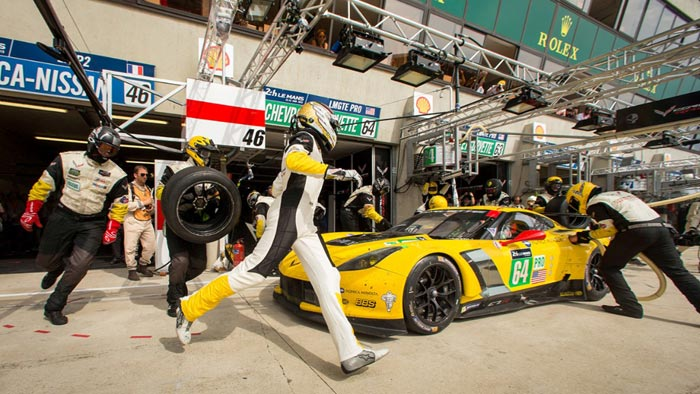 Corvette Racing to Take Spare C7.R Chassis to Le Mans