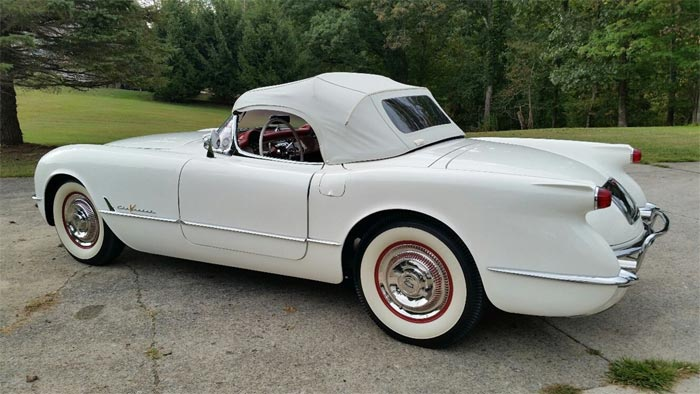 Corvettes on eBay: Exported 1955 Corvette Was King Leopold's Golf Cart