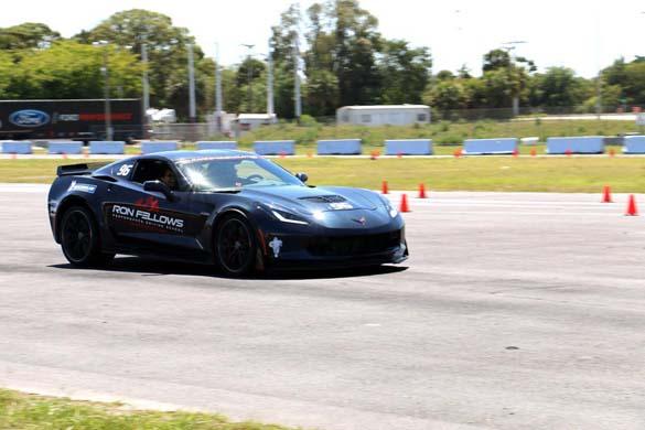 Corvette Z06 Hot Laps at Barrett-Jackson Palm Beach!