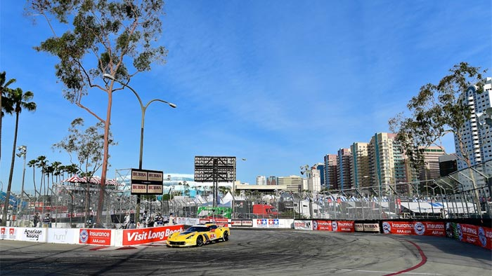 Corvette Racing at Long Beach: Gavin, Magnussen Part of Tight GTLM Fight