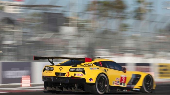 Corvette Racing at Long Beach: Gavin, Milner Second in GTLM