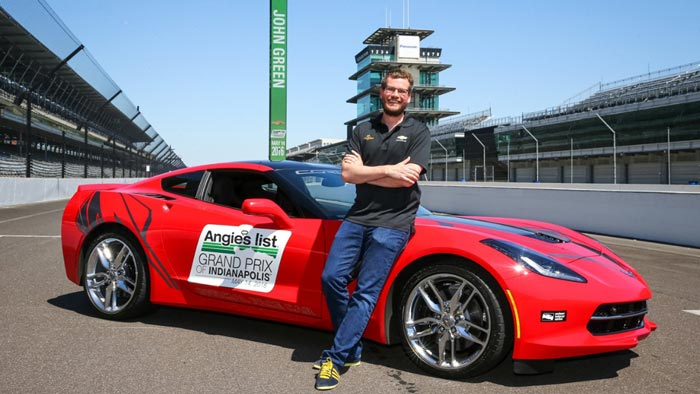 Young Adult Novelist John Green to Drive Corvette Pace Car at Grand Prix of Indy