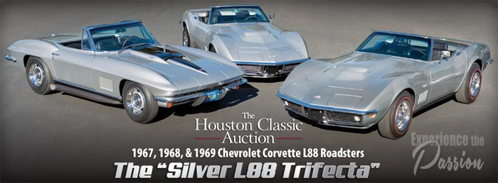 Worldwide Auctions to Offer the Silver L88 Trifecta at Houston Classic