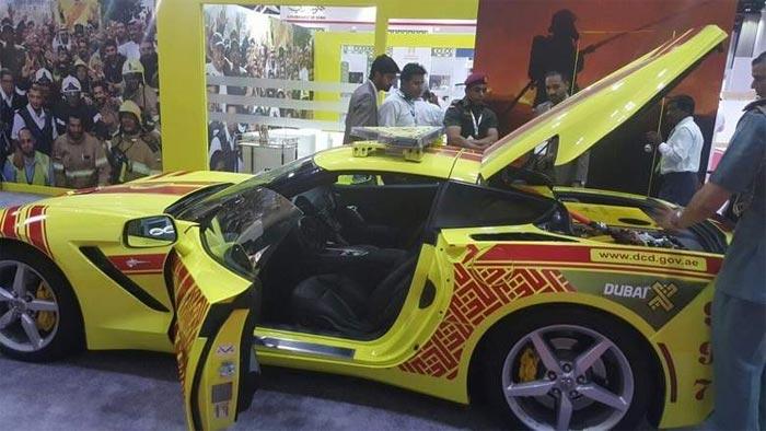 Dubai Adds a 2016 Corvette Stingray to its Emergency Vehicles Fleet
