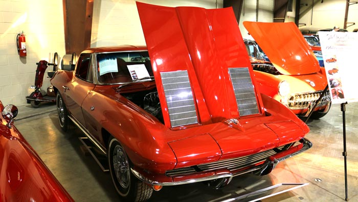 1963 Corvette Coupe - Red/Red 327/340hp - $137,500