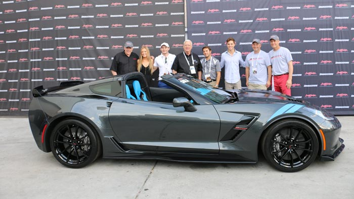 2017 Grand Sport VIN 001 - $170,000