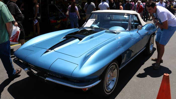 1967 Corvette Roadster - Blue/Blue 427/435hp - $154,000
