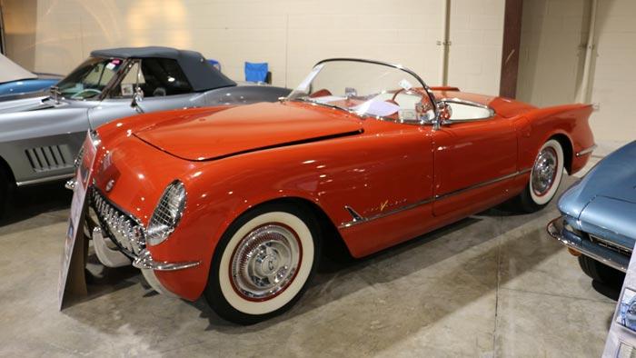 1955 Corvete Roadster - Red/White 265/195hp - $143,000