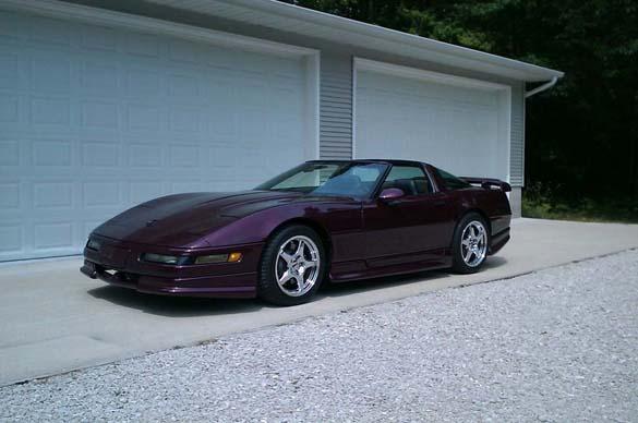 Purple Corvettes for Prince