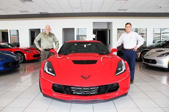 Sanjay's Corvette Z06 Delivery