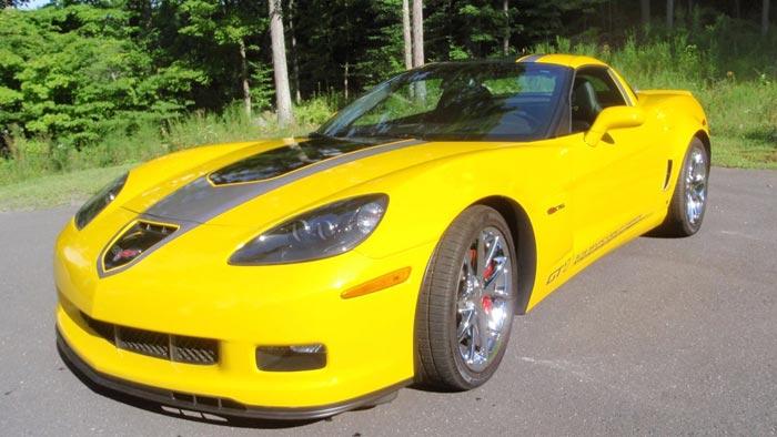 Corvettes on eBay: 2009 Corvette Z06 ALMS GT1 Championship Edition