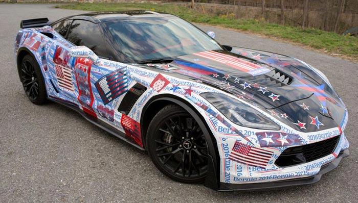Feeling the Bern? You will in a Bernie Sanders Corvette Z06
