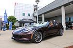2017 Corvette Grand Sport Convertible in Black Rose Metallic