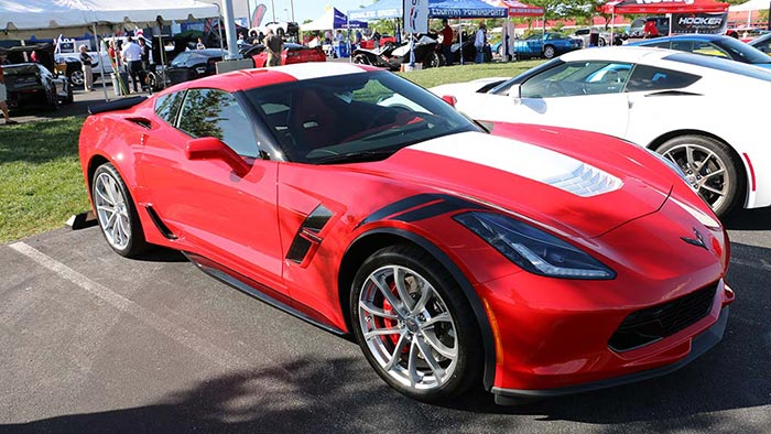 Pics 2017 Corvette Grand Sport With Base Aero Package