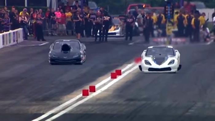 [VIDEO] NHRA Driver Sidnei Frigo Survives Violent Pro Mod Corvette Crash