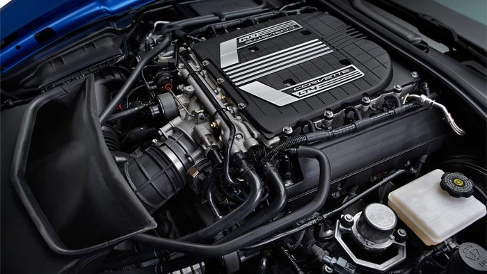 All Corvette Z06 LT4 Engines are Now Hand Built in Bowling Green