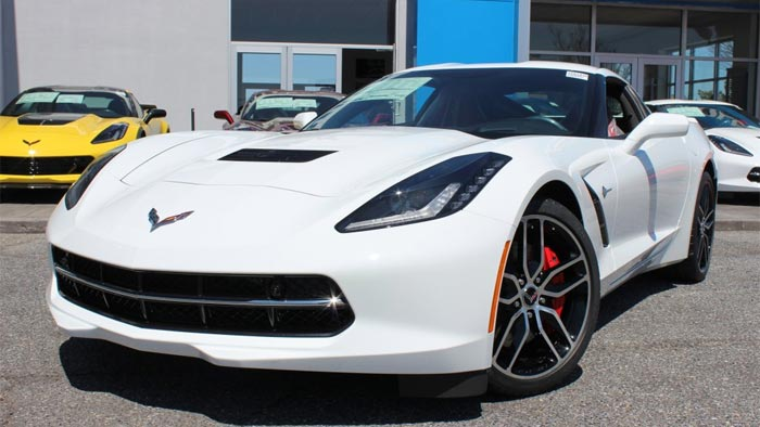New Rebate Programs Now Offered on 2016 Corvettes During May
