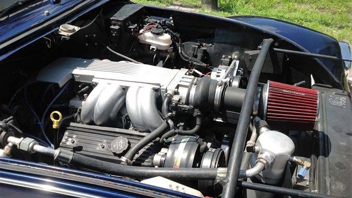 1987 C4 Corvette Masqurades as a VW Beetle