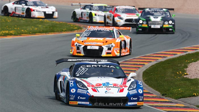 Callaway Corvette C7 GT3-R Captures First Win at Sachsenring