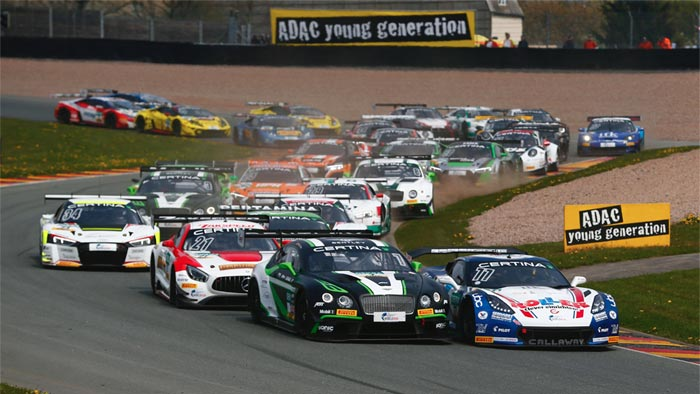 Callaway Corvette C7 GT3-R Captures First Win at the Sachsenring
