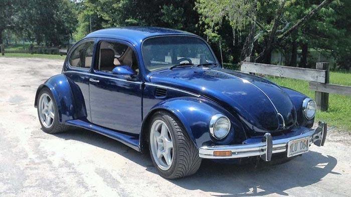 1987 C4 Corvette Masquerades as a VW Beetle - Corvette: Sales, News
