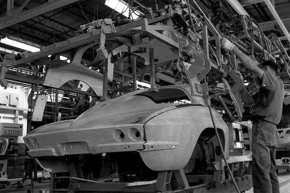 PICS Throwback Thursday 1963 Corvette Pilot Build
