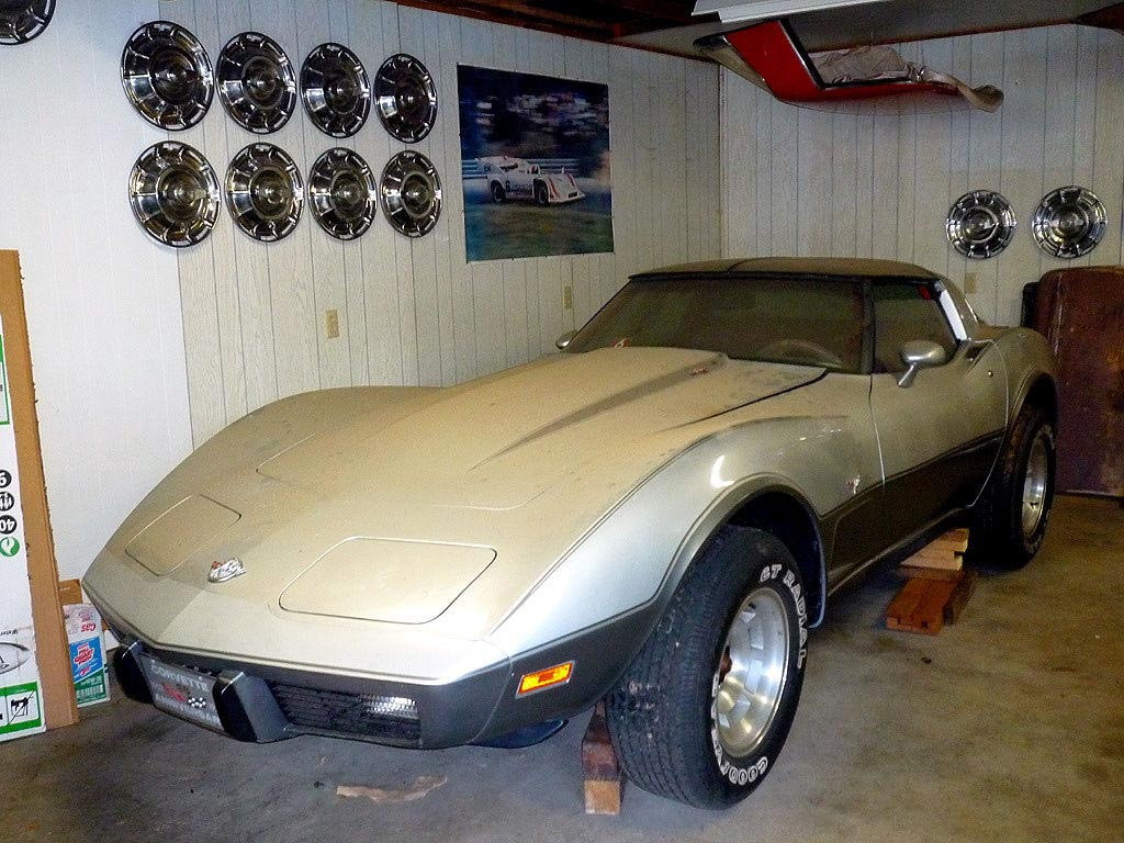 Corvettes on eBay: 4.1 Original Mile 1978 Silver Anniversary Edition ...