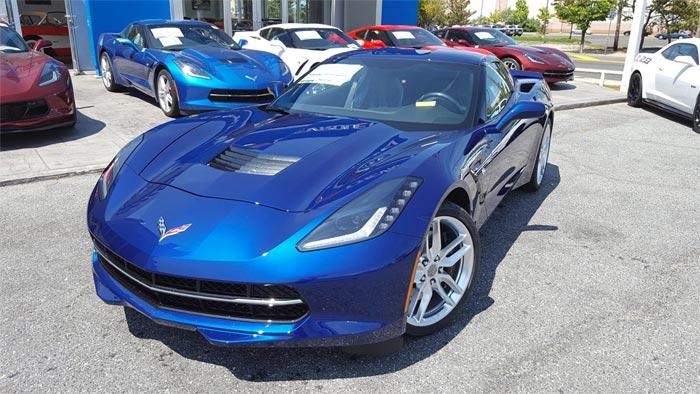 Pics Kerbeck Shows Off New Admiral Blue Corvette Stingray
