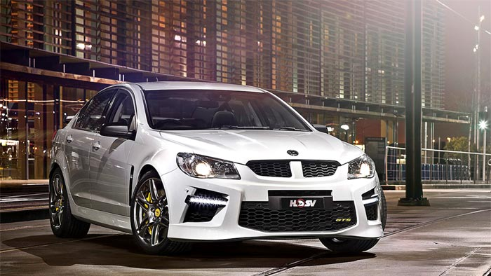 Holden's Finale for Final Commodore Features LS9 V8 and a Price Tag of $165K