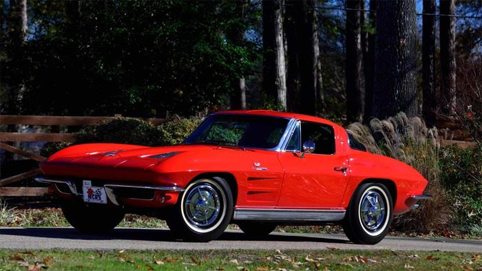 1963 Corvette Z06 NCRS Top Flight, 1 of 199 Produced
