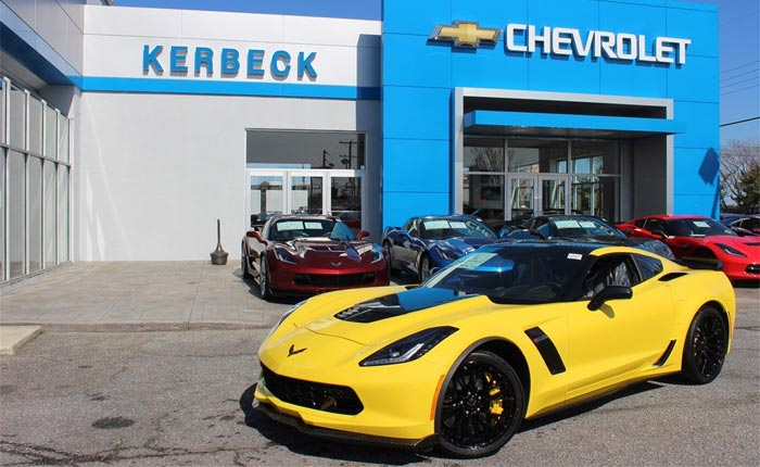 May 2016 Corvette Sales