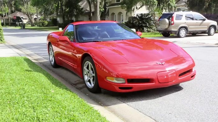 [VIDEO] High Mileage C5 Corvette Now Has 709,972 Miles on Odometer