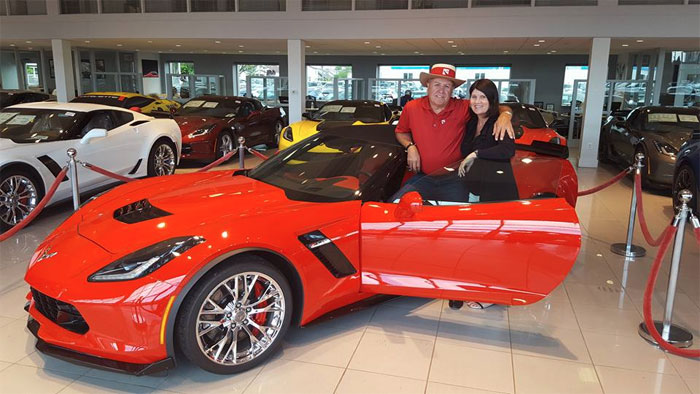 [PIC] Mid America Motorworks' Mike Yager Picks Up New Corvette Z06