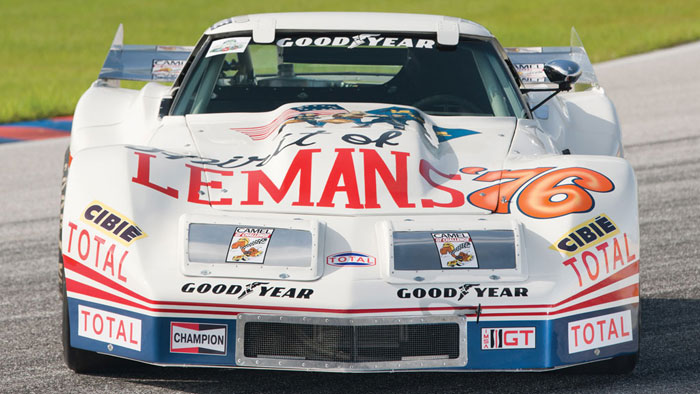 1976 Spirit of Le Mans Corvette to be Featured in Americans At Le Mans Exhibition