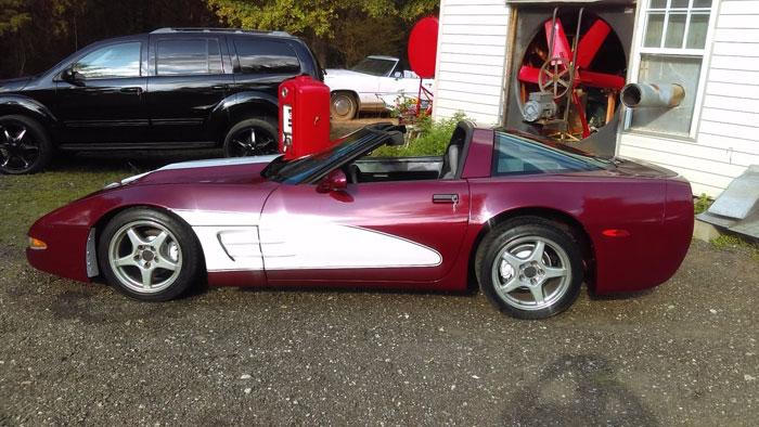 Corvettes on eBay: 1987 '50th Anniversary Edition' Corvette