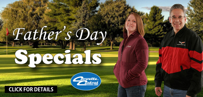 Corvette Central Has the Father's Day Corvette Gifts Your Dad Will Love