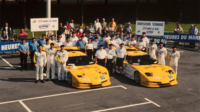 [PIC] Throwback Thursday: That Time Corvette Racing Donned Mustaches and Berets at Le Mans