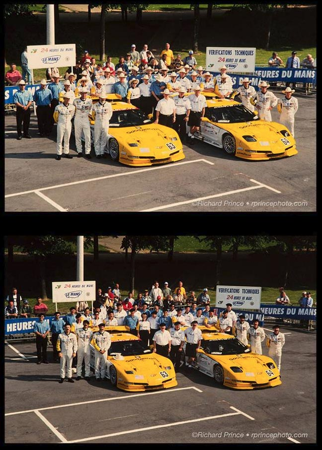 [PIC] Throwback Thursday: That Time Corvette Racing Donned Berets and Fake Mustaches at Le Mans
