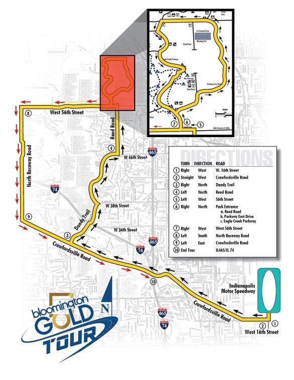 Bloomington Gold Announces New GoldTour Route