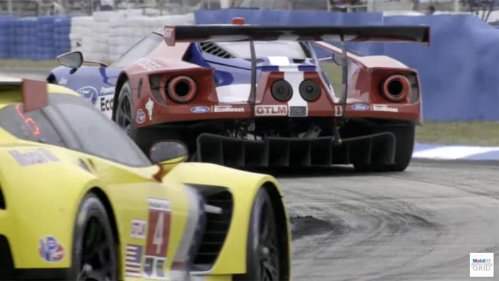 [VIDEO] Mobil 1 Previews the U.S. Invasion by Ford and Corvette at Le Mans